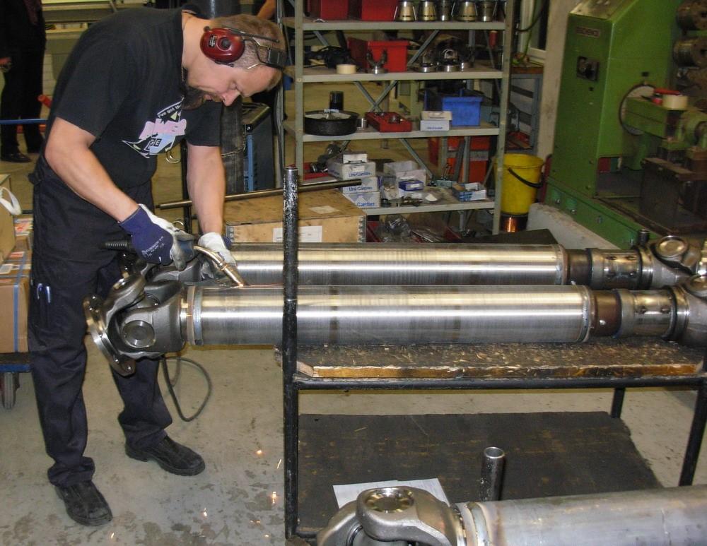 Реставрация или замена трубы кардана